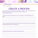 Create a Process Printable - VA Moms Network Resource Library