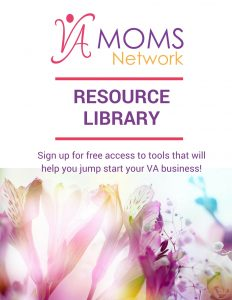 VA Moms Network Free Resource Library - www.VAMomsNetwork.com