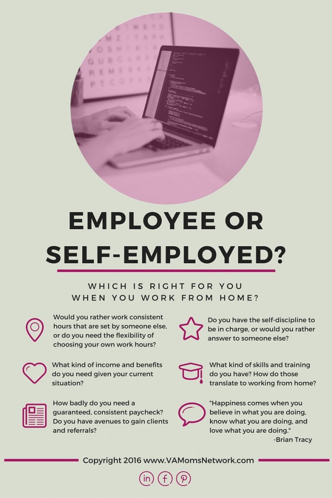 Employee or Self-Employed? How to Choose